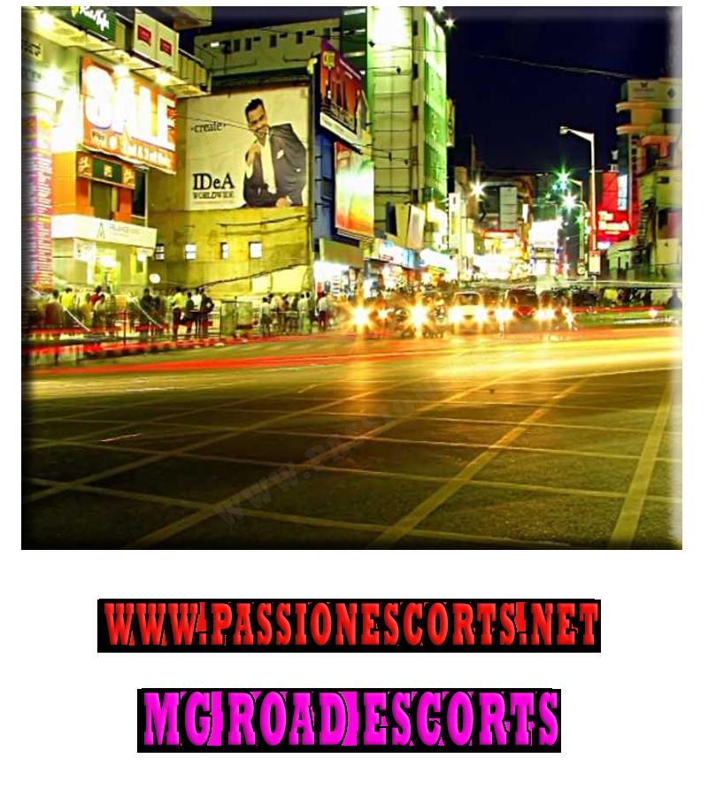 escort service in MG Road Bangalore